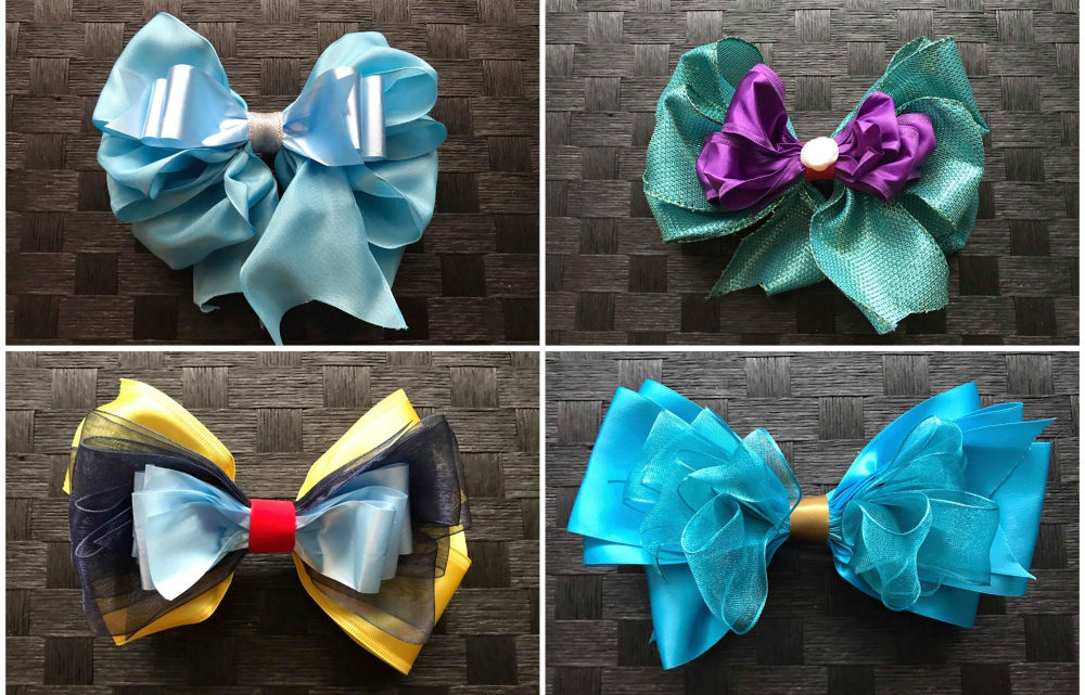 Disneybounding – Disney Princess  Inspired Hair Bows